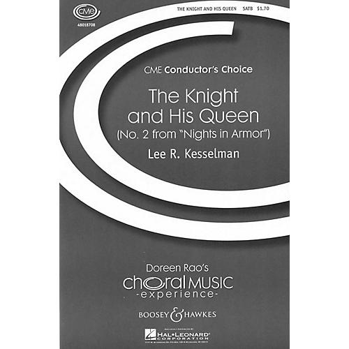 Boosey and Hawkes The Knight and His Queen (No. 2 from Nights in Armor) SATB a cappella composed by Lee Kesselman-thumbnail