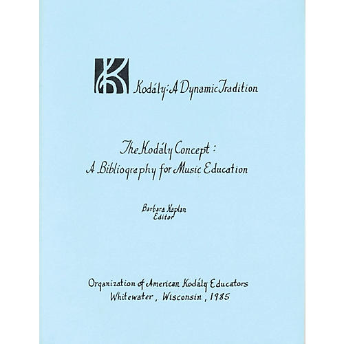Boosey and Hawkes The Kodály Concept: A Bibliography for Music Education-thumbnail
