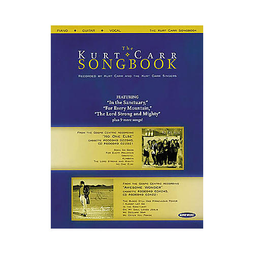 Word Music The Kurt Carr Songbook