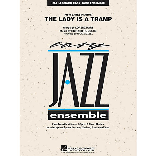 Hal Leonard The Lady Is A Tramp - Easy Jazz Ensemble Series Level 2-thumbnail