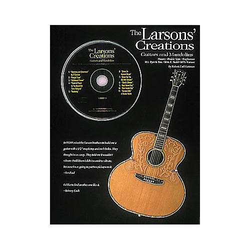 Hal Leonard The Larsons Creations: Guitars and Mandolins (Book and CD Package)-thumbnail