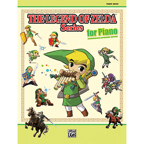 Alfred The Legend of Zelda Series for Piano Book-thumbnail