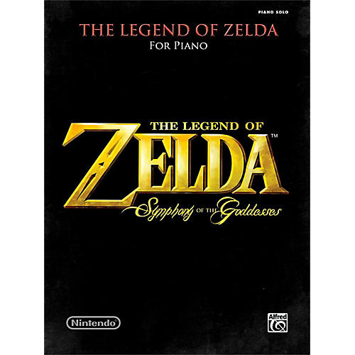 Alfred The Legend of Zelda Symphony the Goddesses Late Intermediate Early Advanced Piano Solos Songbook-thumbnail