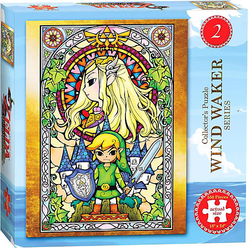 USAOPOLY The Legend of Zelda Wind Waker Collector's Puzzle Series #2-thumbnail