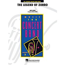Hal Leonard The Legend of Zorro - Young Concert Band Level 3 by Michael Brown