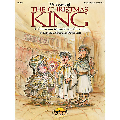 Hal Leonard The Legend of the Christmas King PREV CD Composed by Ruth Elaine Schram