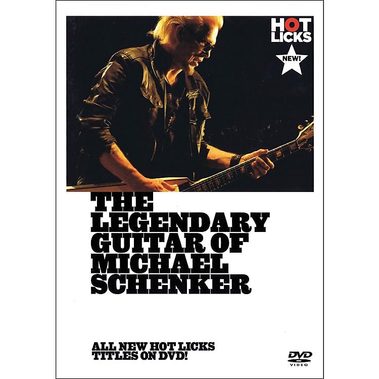 Music SalesThe Legendary Guitar Of Michael Schenker - Instructional Guitar DVD
