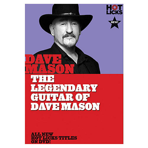 Music Sales The Legendary Guitar of Dave Mason Music Sales America Series DVD Performed by Dave Mason-thumbnail