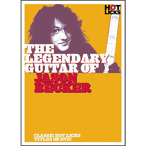 Hot Licks The Legendary Guitar of Jason Becker DVD