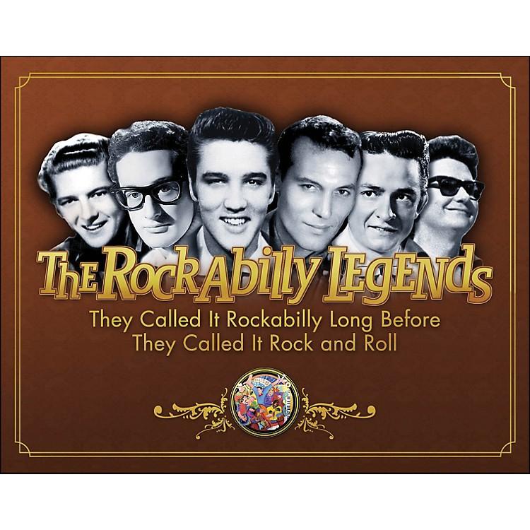 Hal LeonardThe Legends Of Rockabilly - Book/DVD
