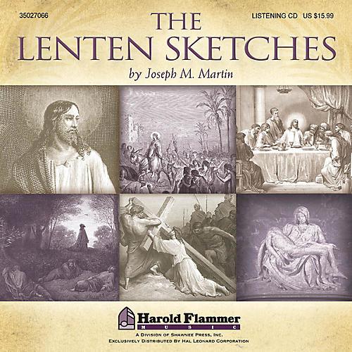 Shawnee Press The Lenten Sketches Listening CD composed by Joseph M. Martin-thumbnail