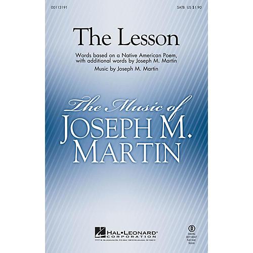 Hal Leonard The Lesson SATB composed by Joseph M. Martin-thumbnail