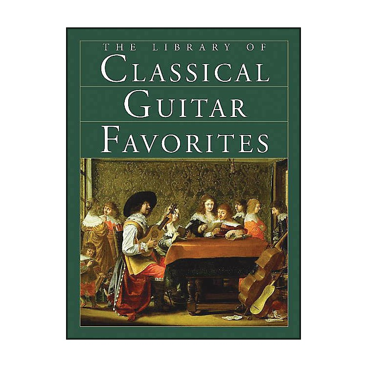 Music SalesThe Library Of Classical Guitar Favorites