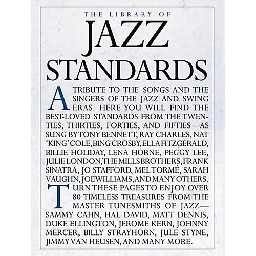 Music Sales The Library of Jazz Standards Music Sales America Series Softcover