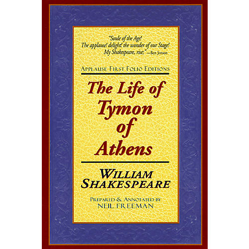 Applause Books The Life of Tymon of Athens Applause Books Series Softcover Written by William Shakespeare-thumbnail