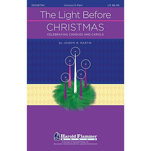 Shawnee Press The Light Before Christmas UNIS/2PT composed by Joseph M. Martin
