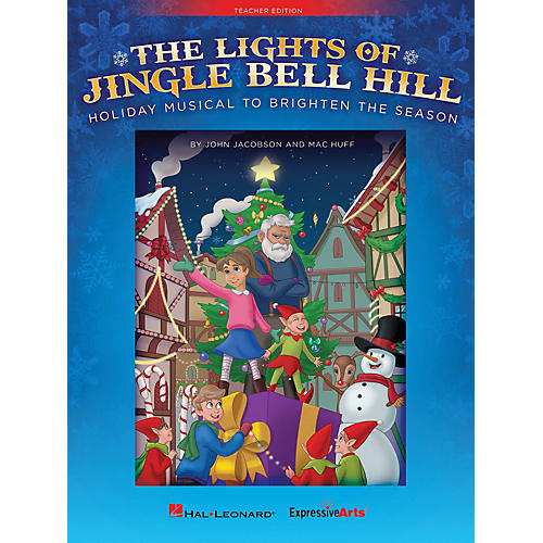 Hal Leonard The Lights of Jingle Bell Hill Performance/Accompaniment CD Composed by John Jacobson-thumbnail