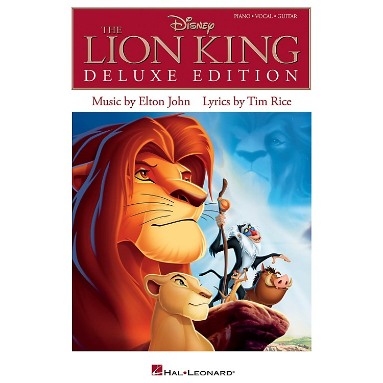 Hal LeonardThe Lion King Deluxe Edition for Piano/Vocal/Guitar