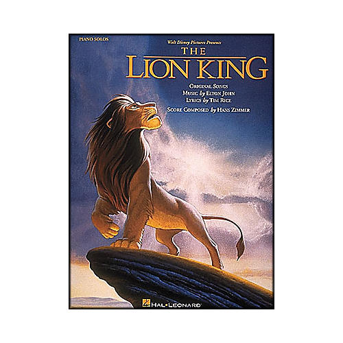 Hal Leonard The Lion King Piano Solos