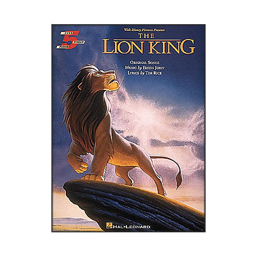Hal Leonard The Lion King for Five Finger Piano-thumbnail