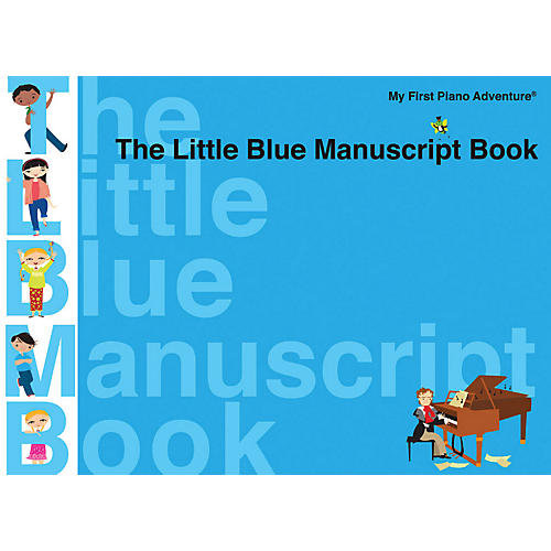 Faber Piano Adventures The Little Blue Manuscript Book - Faber Piano Adventures-thumbnail