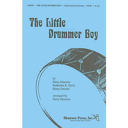 Shawnee Press The Little Drummer Boy SAB Arranged by Harry Simeone-thumbnail