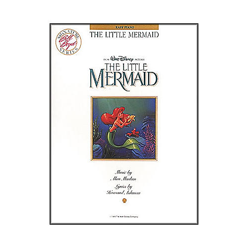 Hal Leonard The Little Mermaid For Easy Piano by Bill Boyd