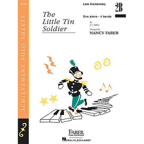 Faber Piano Adventures The Little Tin Soldier (Late Elem/Level 2B Piano Duet) Faber Piano Adventures® Series-thumbnail