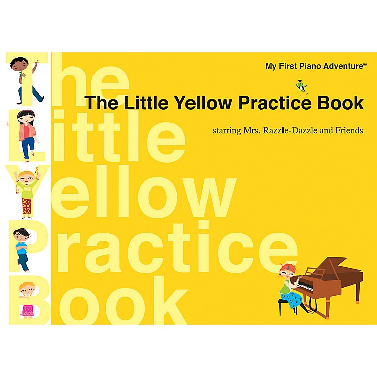 Faber Music The Little Yellow Practice Book Faber Piano Adventures