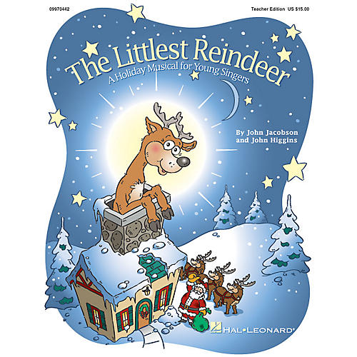 Hal Leonard The Littlest Reindeer (Holiday Musical) (A Holiday Musical About Giving) REPRO PAK by John Higgins-thumbnail