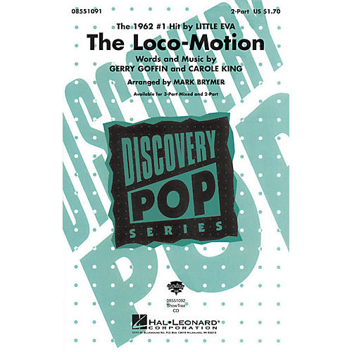 Hal Leonard The Loco-Motion 2-Part by Little Eva arranged by Mark Brymer-thumbnail