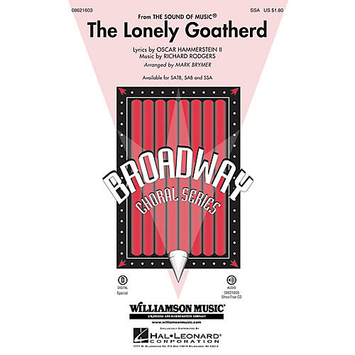 Hal Leonard The Lonely Goatherd (from The Sound of Music) SSA arranged by Mark Brymer-thumbnail
