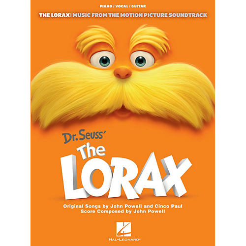 Hal Leonard The Lorax - Music From The Motion Picture for Piano/Vocal/Guitar-thumbnail