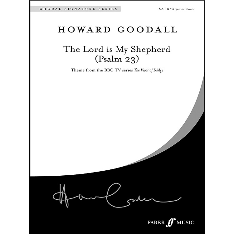 AlfredThe Lord Is My Shepherd (Psalm 23) SATB Choral Octavo