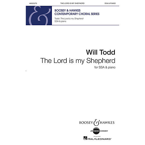 Boosey and Hawkes The Lord Is My Shepherd (SSA and Piano) SSA composed by Will Todd-thumbnail