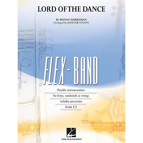 Hal Leonard The Lord of the Dance Concert Band Level 2-3 Arranged by Johnnie Vinson-thumbnail