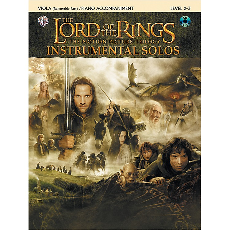 AlfredThe Lord of the Rings Instrumental Solos for Strings Viola Book (with Piano Acc.) & CD