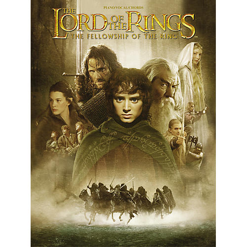 Alfred The Lord of the Rings The Fellowship of the Ring Piano/Vocal/Chords