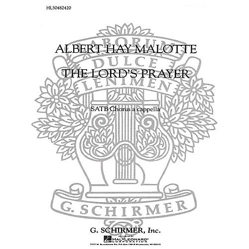 G. Schirmer The Lord's Prayer SATB a cappella composed by Albert Hay Malotte-thumbnail