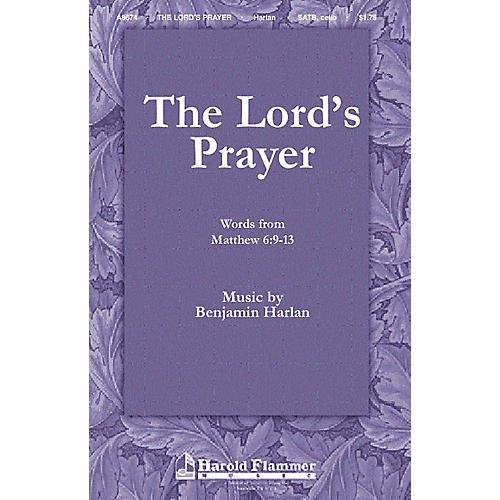 Shawnee Press The Lord's Prayer SATB composed by Benjamin Harlan