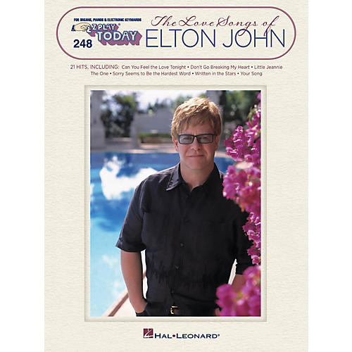 Hal Leonard The Love Songs Of Elton John E-Z Play Today 248-thumbnail