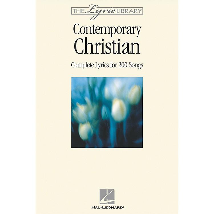 Hal LeonardThe Lyric Library: Contemporary Christian