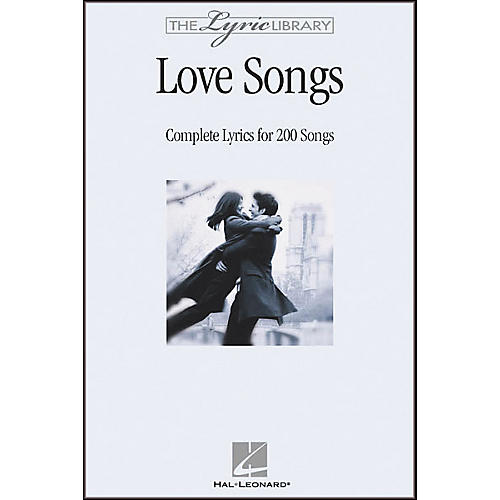 Hal Leonard The Lyric Library: Love Songs Book-thumbnail