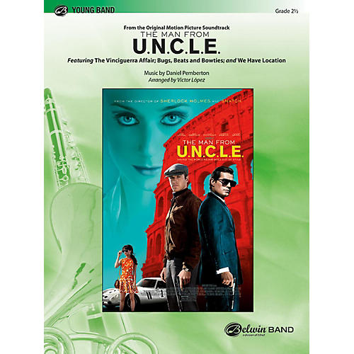 BELWIN The Man from U.N.C.L.E. (from the Original Motion Picture Soundtrack) Grade 2.5 (Easy to Medium Easy)-thumbnail
