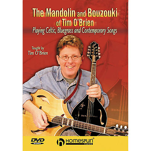 Homespun The Mandolin and Bouzouki of Tim O'Brien (DVD)