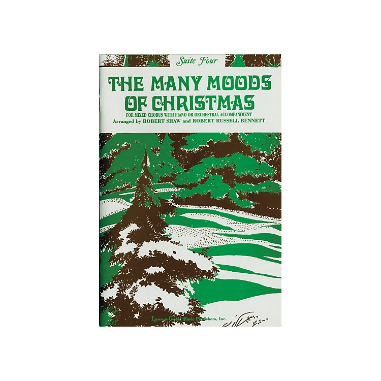 Alfred The Many Moods of Christmas Suite 4 SATB