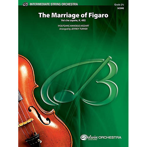 Alfred The Marriage of Figaro String Orchestra Grade 2.5 Set-thumbnail