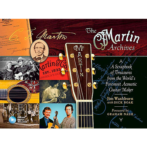 Hal Leonard The Martin Archives - A Scrapbook of Treasures from the World's Foremost Acoustic Guitar Maker-thumbnail