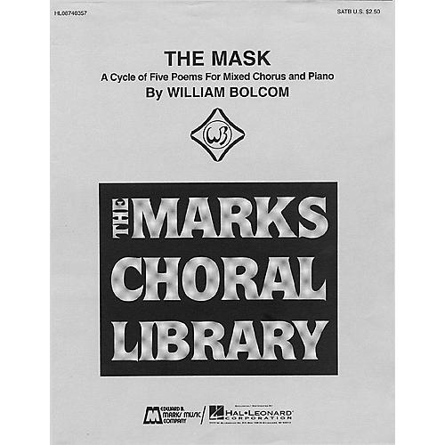 Edward B. Marks Music Company The Mask - A Cycle of Five Poems (Collection) SATB composed by William Bolcom
