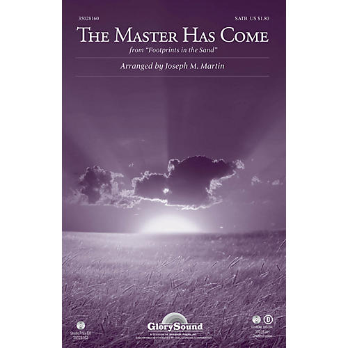 Shawnee Press The Master Has Come (from Footprints in the Sand) Studiotrax CD Arranged by Joseph M. Martin-thumbnail